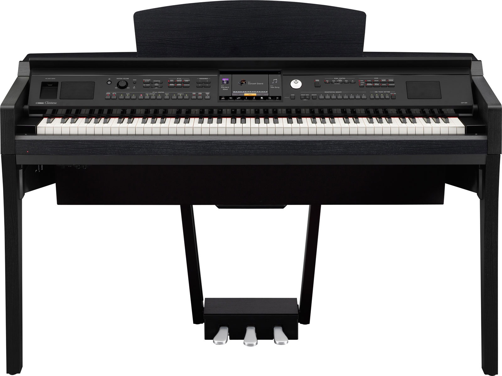 yamaha cvp 609 clavinova digital piano revealed demonstration video photos gaming. Black Bedroom Furniture Sets. Home Design Ideas