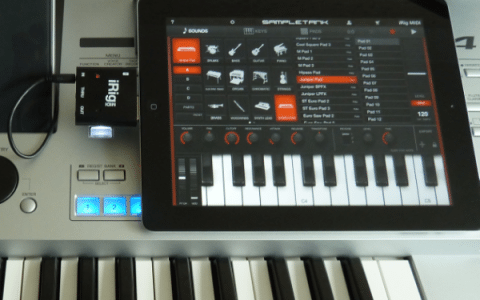 iRig MIDI Review – Connecting MIDI Equipment to the iPad, iPhone & iPod Touch