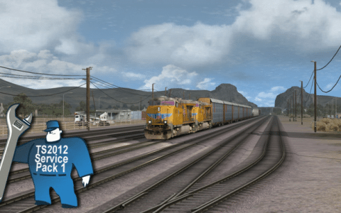Train Simulator 2012 Service Pack 1 Announced – Two Routes with Significantly Improved Graphics