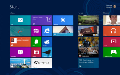 The Windows 8 Start Screen – It's Not Evil, Just Different