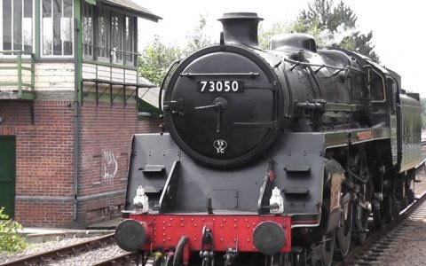 Nene Valley Railway – A Trip on the City of Peterborough Steam Locomotive [Video]