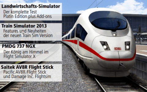 Train Simulator 2013 First Look (German) – Simulator World Digital Magazine