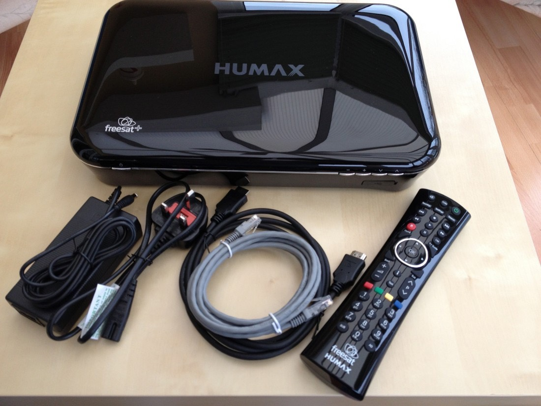 Included with the Humax HDR-1000S