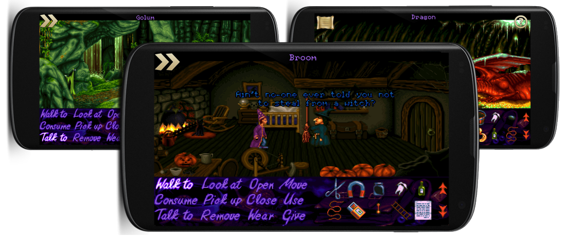 Simon the Sorcerer on Android
