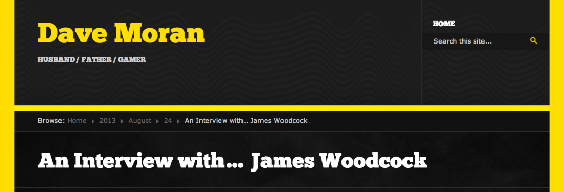 An Interview with… James Woodcock