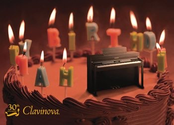 The Yamaha Clavinova is celebrating its birthday: 1983 to 2013!