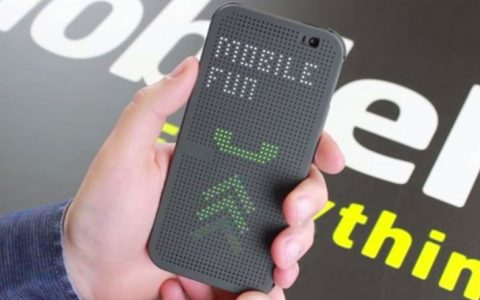 Official HTC One M8 Dot View Case Hands On – Mobile Fun