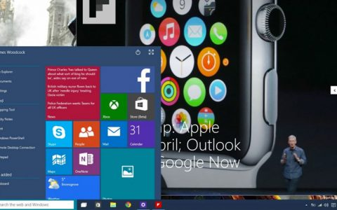 Windows 10 Hands On – The Start Menu is Back, Start Screen Evolves