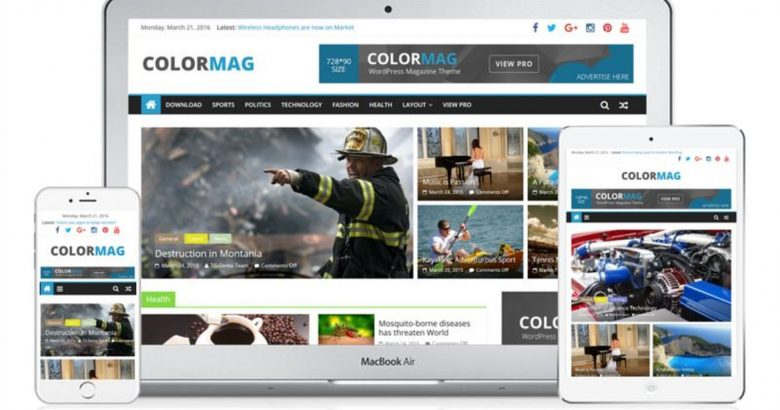 New Website Design Launched – ColorMag Pro by ThemeGrill